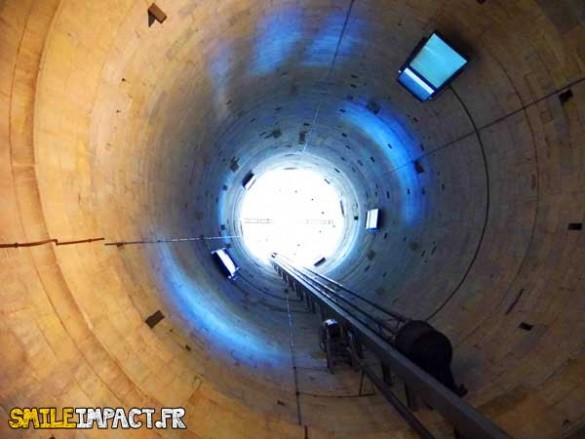 Intérieur de la tour de Pise