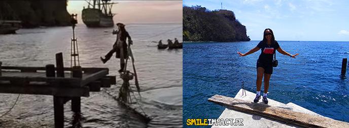 Pirates des Caraïbes et smileimpact