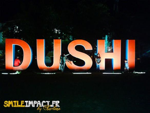 Dushi = doudou à Curacao