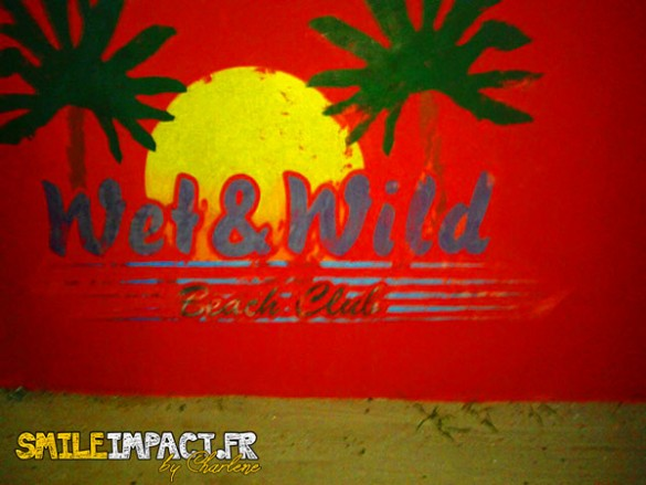Wet & wild - Bar de Curacao