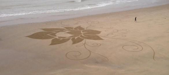 BEACH ART OU SAND ART En Charente-Maritine