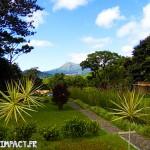 Vue sur la Montagne pelée - Domaine d'émeraude