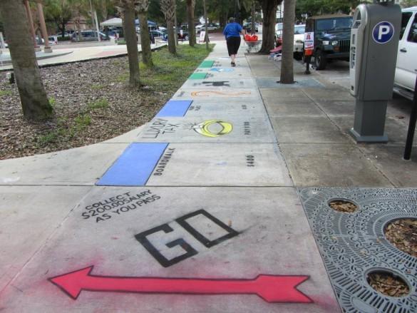 Monopoly sur les trottoirs