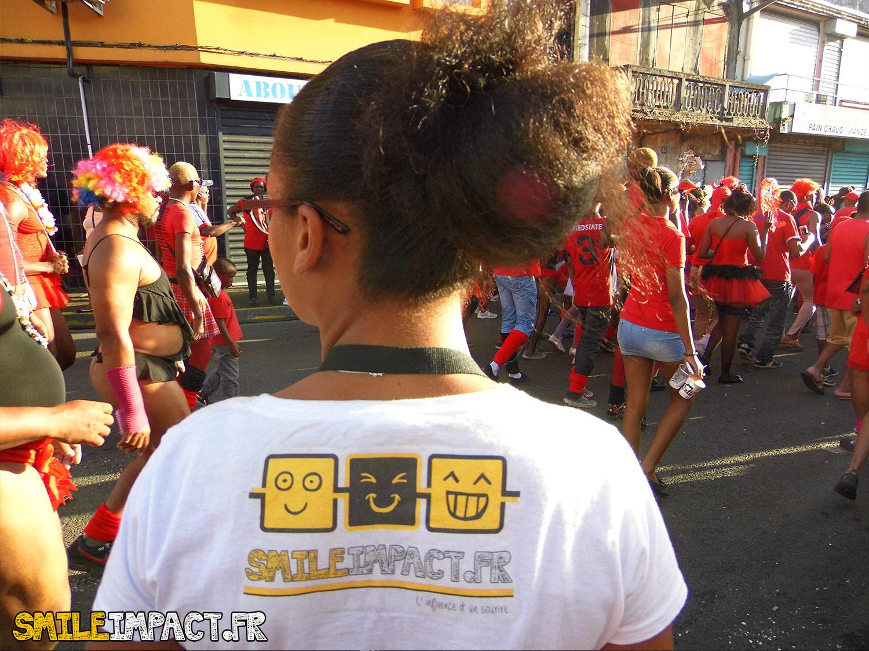 Smileimpact au coeur du Carnaval 2015